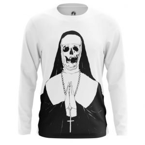 Collectibles Long Sleeve Skeleton Nun Dark Art
