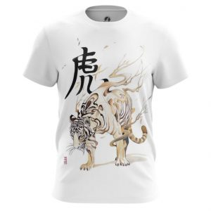 Collectibles Japan Tiger T-Shirt White Series
