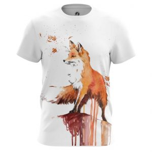 Collectibles T-Shirt Fox Print Picture Art Top