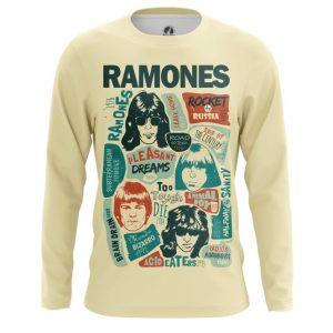 Merchandise Long Sleeve Posters Arts Ramones