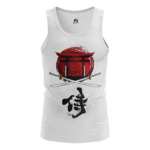 Merchandise Tank Bushido Code Katana Vest