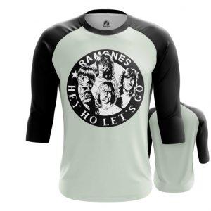 Merchandise Raglan Ramones Hey Ho Let'S Go