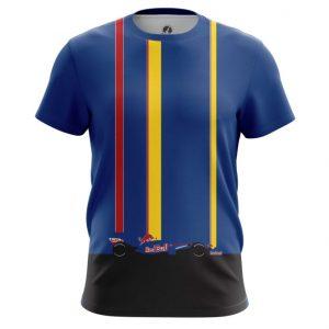 Merch T-Shirt Racing Red Bull Toplines Blue