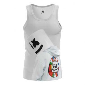 Merch Tank Head Dj Marshmello Vest