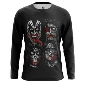 Collectibles Long Sleeve Faces Kiss Band Cover Print