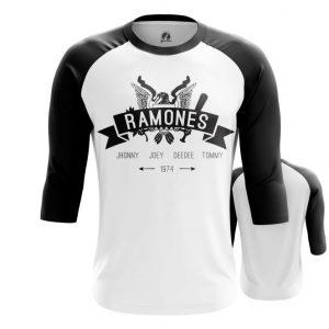 Merchandise Raglan Band'S Names Ramones