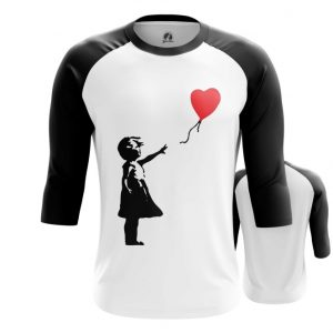 Collectibles Raglan Banksy Girl With Balloon