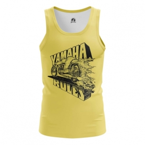 Merch Tank Yamaha Rules Yellow Vest