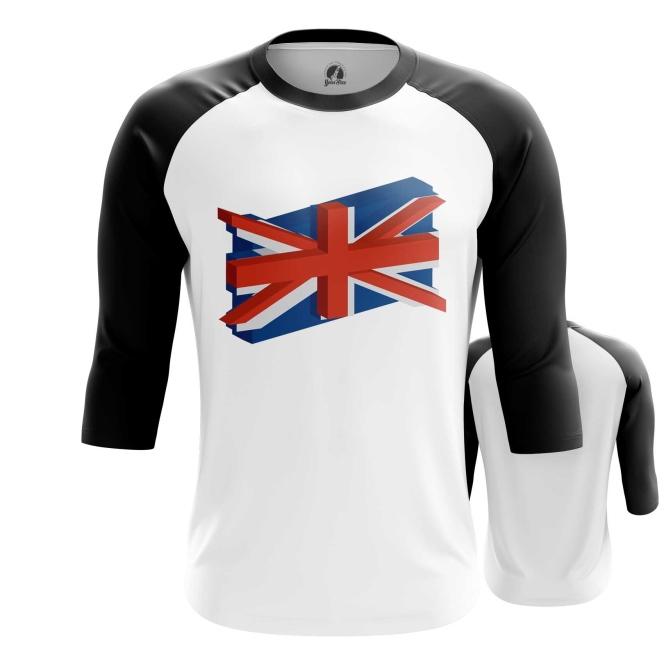 Merch Raglan British Merch Symbol