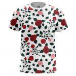 Merchandise - T-Shirt Roses Pattern Floral Top