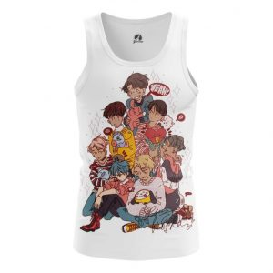 Collectibles Tank Bts Korean Band Print Vest