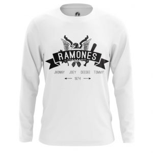 Merchandise Long Sleeve Band'S Names Ramones