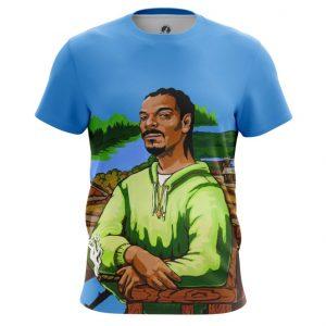 Merch T-Shirt Snoop Dogg Fine Art Painting
