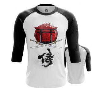 Merchandise Raglan Bushido Code Katana