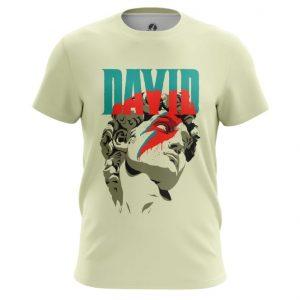 Merch T-Shirt David Sculpture David Bowie