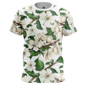 Merchandise T-Shirt Apple Tree Blossom Top