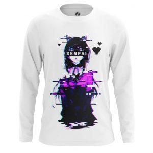 Merchandise Long Sleeve Glitch Senpai Anime Girl