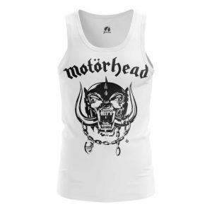 Merchandise Tank Motörhead White Logo Vest