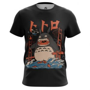 Collectibles T-Shirt Angry Totoro Art