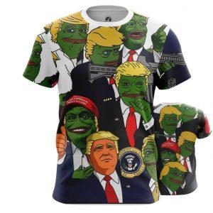 Collectibles T-Shirt Pepe Donald Trump Meme Top