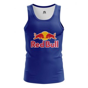 Merch Tank Red Bull Red Blue Logo Vest