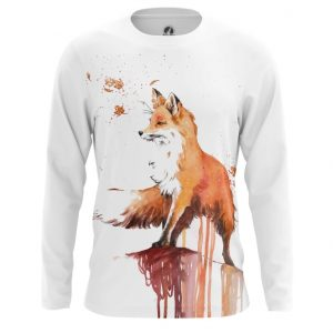 Collectibles Long Sleeve Fox Print Picture Art