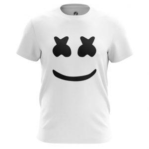 Merch Marshmello T-Shirt Dj Face White Print