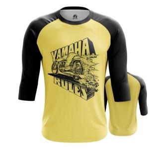 Merch Raglan Yamaha Rules Yellow