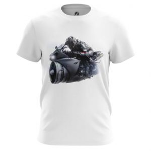 Merch T-Shirt Bike Yamaha Black Top