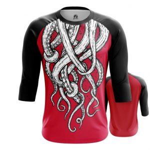 Merch Raglan Tentacles Octopus Art