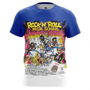 Merchandise Ramones T-Shirt Hight School Rock'N'Roll