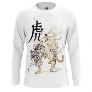 Collectibles Long Sleeve White Tiger Japan
