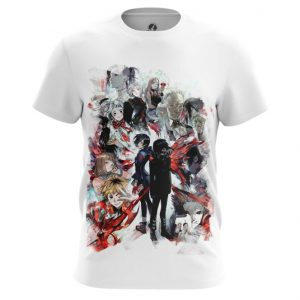Collectibles T-Shirt Manga Tokyo Ghoul Characters