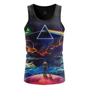 Merch Tank Prism Dark Side Pink Floyd Vest