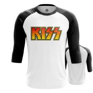 Collectibles Raglan Kiss Band Logo Emblem