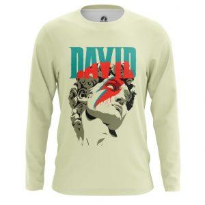 Merch Long Sleeve David Sculpture David Bowie