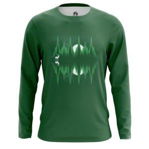 Merch Long Sleeve Sound Equalizer Green Print