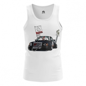 Merch Tank Mercedes Comics Vest