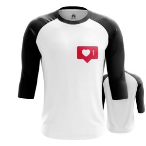 Collectibles Raglan Like Instagram Heart