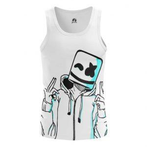Merch Tank Acid Art Dj Marshmello Vest