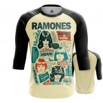 Collectibles Raglan Posters Arts Ramones