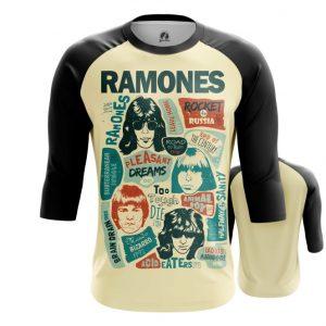 Merchandise Raglan Posters Arts Ramones