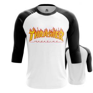 Merch Raglan Thrasher Flaming Brand