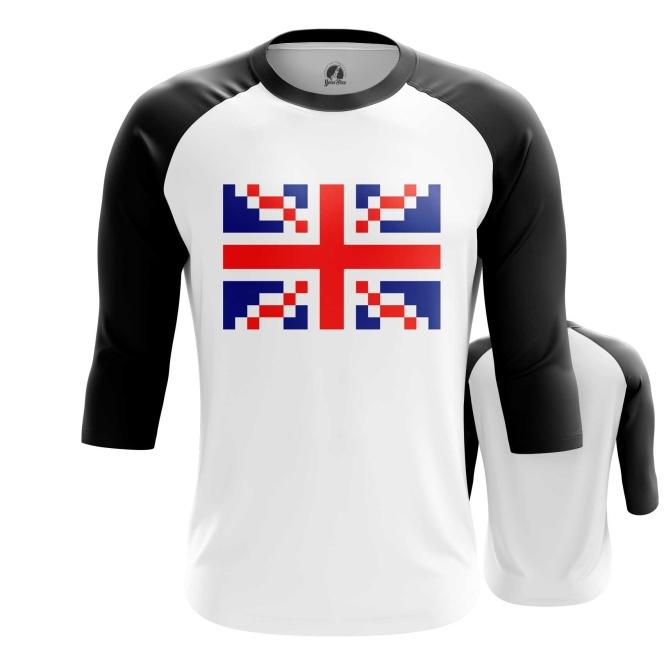 Merch Raglan Union Jack British Flag