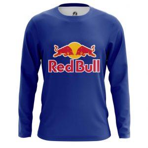 Merch Long Sleeve Red Bull Red Blue Logo