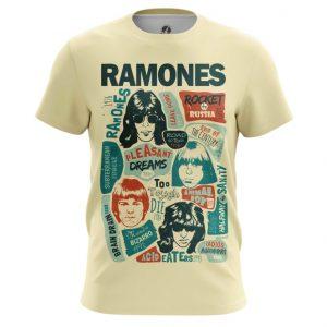 Merchandise T-Shirt Posters Arts Ramones Retro