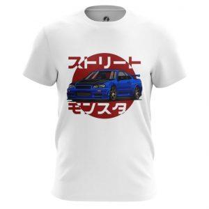 Collectibles T-Shirt Nissan Skyline Print Art Top