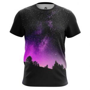 Merch T-Shirt Night Sky Universe Top