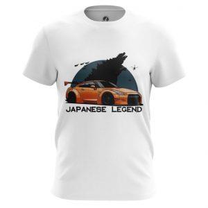 Collectibles T-Shirt Japanese Legend Nissan Top