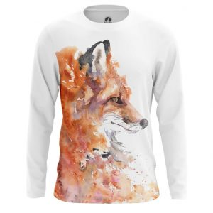 Collectibles Long Sleeve Watercolor Fox Foxy